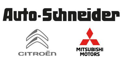Logo Autohaus Schneider Heilbronn Citroen Mitsubishi