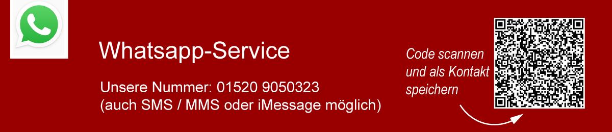 So erreichen Sie das Autohaus Schneider Heilbronn über Whatsapp