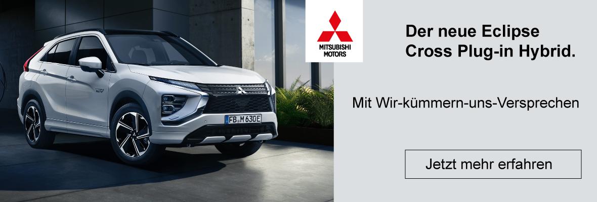 Der neue Mitsubishi Eclipse Cross Plug-in Hybrid entdecken beimAutohaus Schneider Heilbronn
